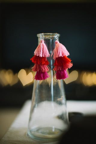 Limited Edition Pink Tassels