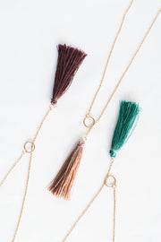 Unchained Tassel Necklace