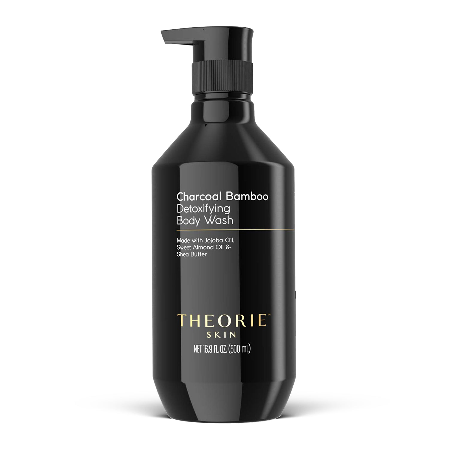 Theorie: Sage - Charcoal Bamboo Detoxifying Body Wash