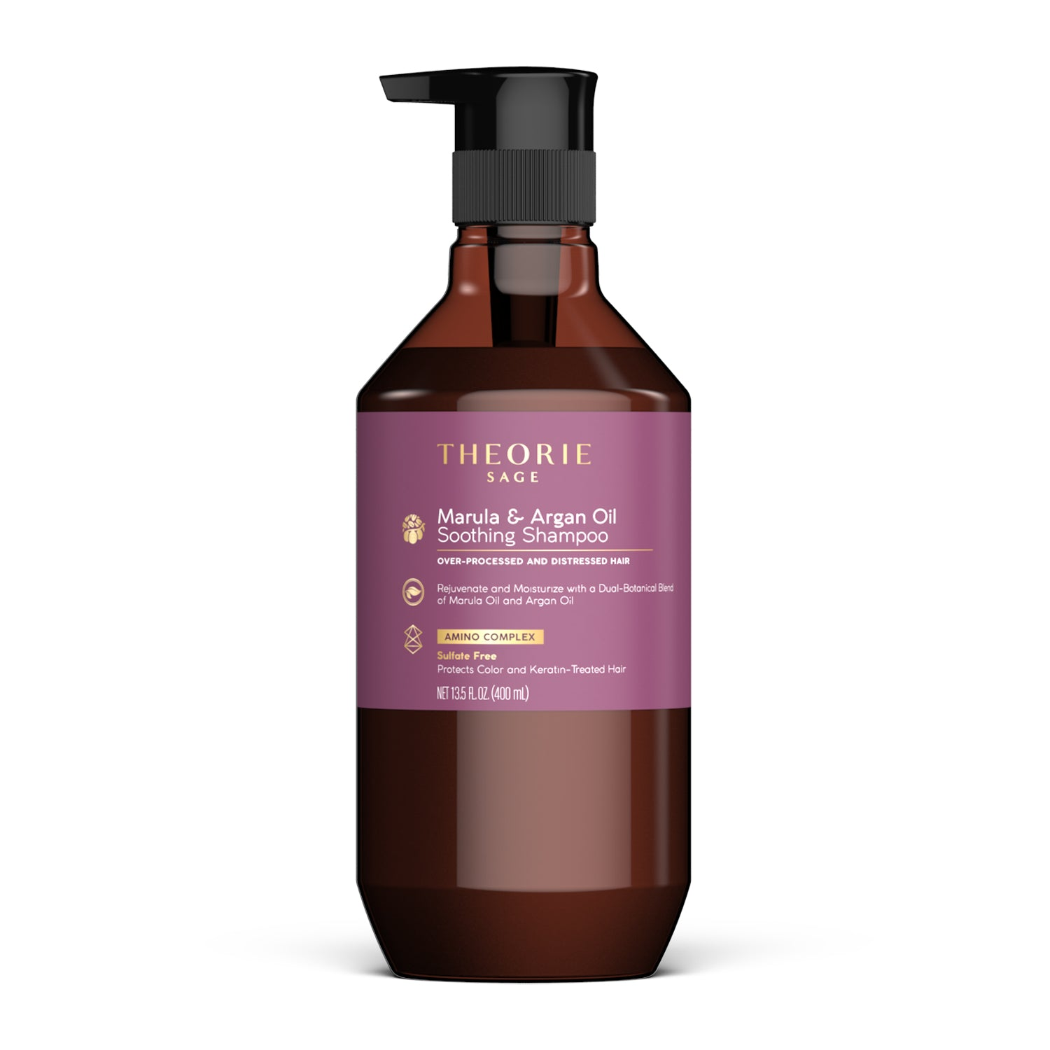 Theorie: Sage -  Marula & Argan Oil Soothing Shampoo (sulfate free)
