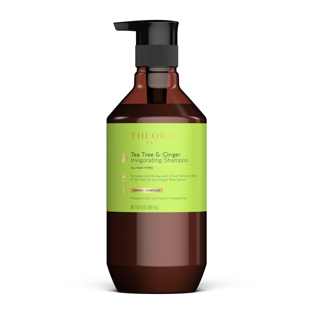 Theorie: Sage - Tea Tree & Ginger Invigorating Shampoo