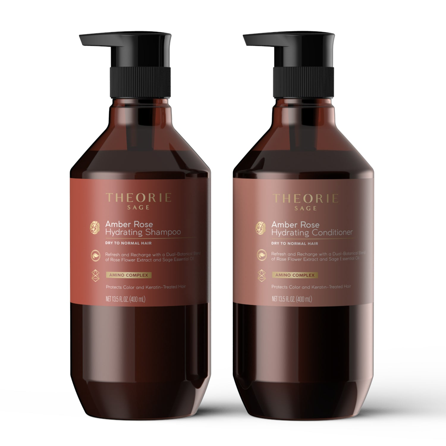 Theorie: Sage - Amber Rose Hydrating Shampoo & Condition Set