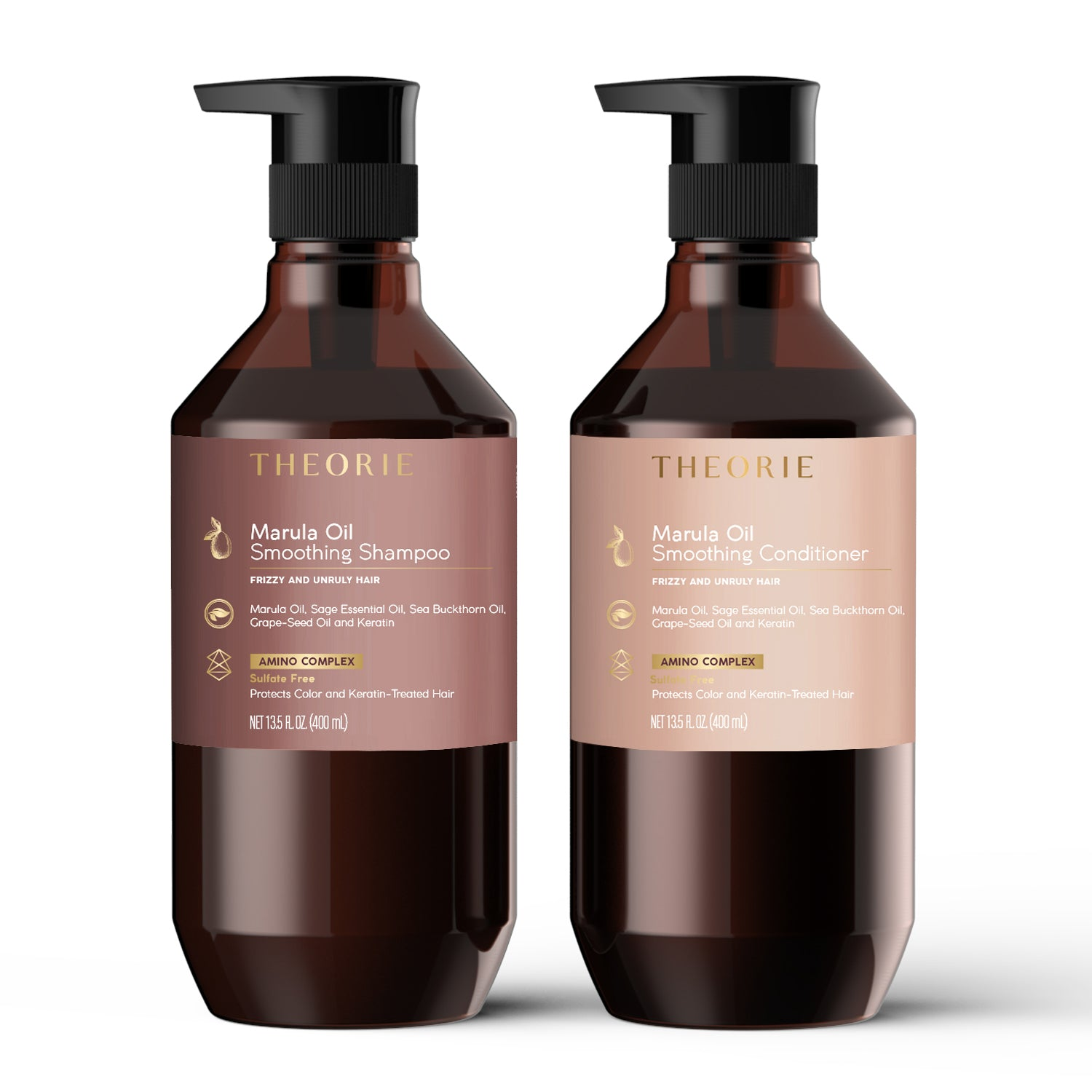 Sage - Marula Oil Smoothing Shampoo & Conditioner Set