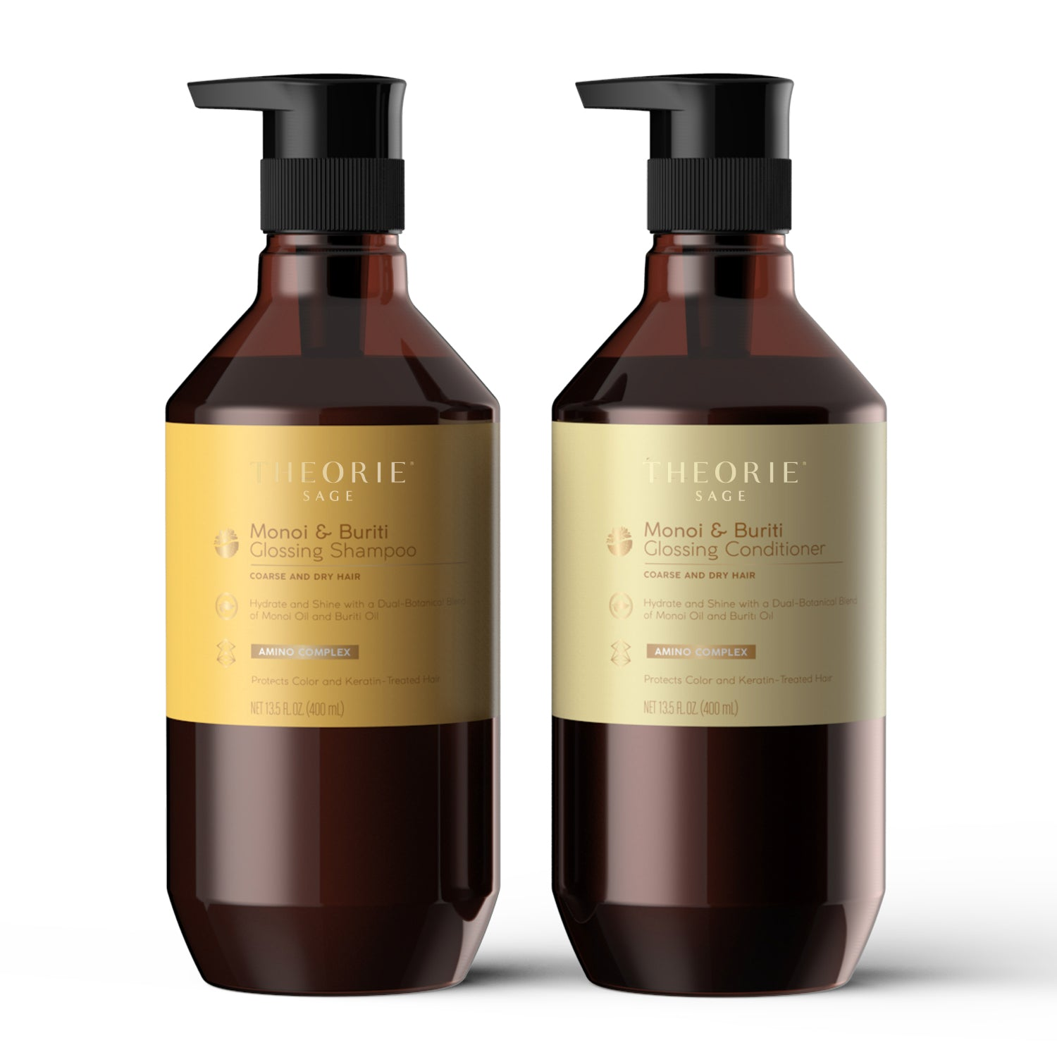 Theorie: Sage -  Monoi & Buriti Oil Glossing Shampoo & Condition Set