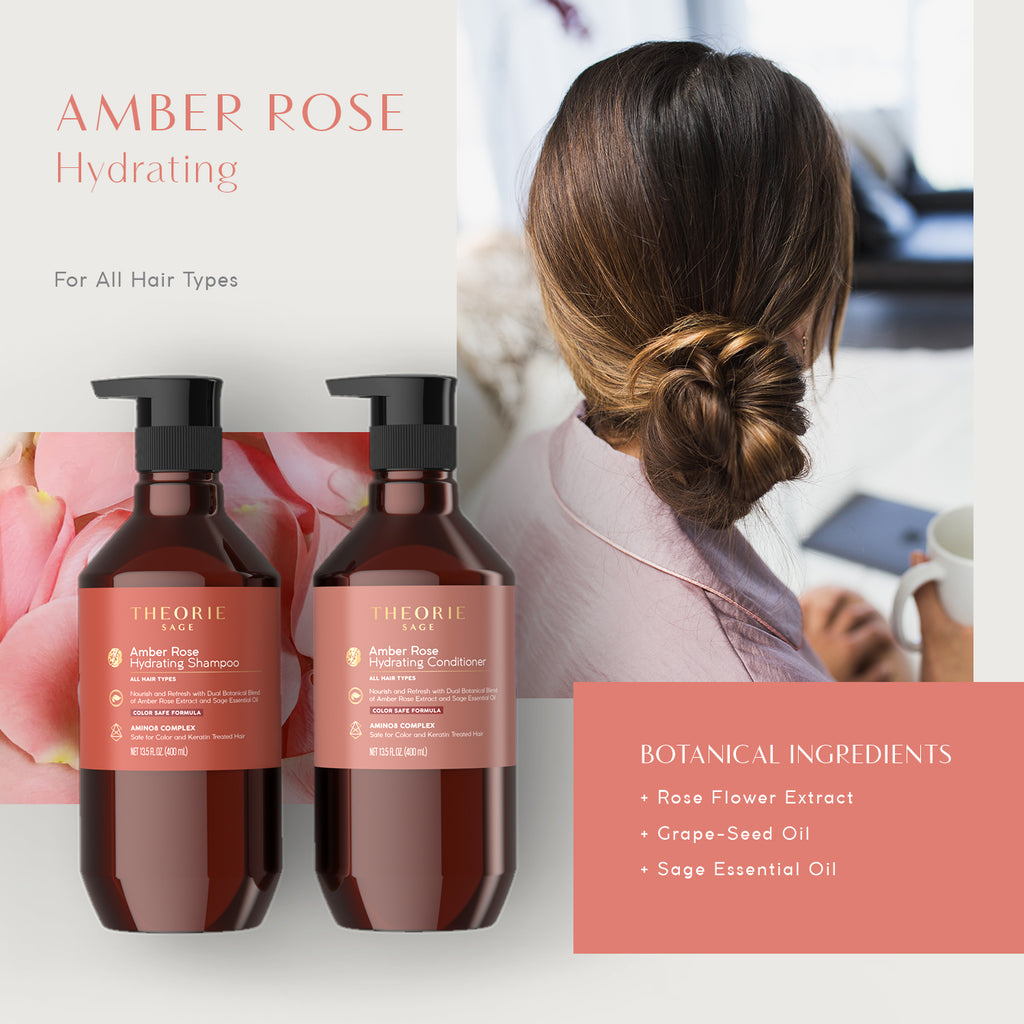 Sage - Amber Rose Hydrating Shampoo & Condition Set