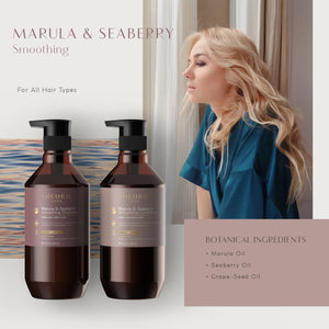 Theorie: Sage -  Marula & Seaberry Smoothing Shampoo & Condition Set