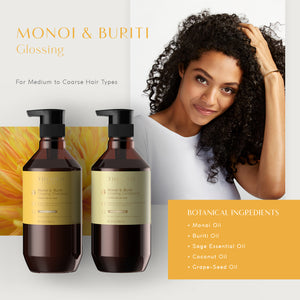 Sage -  Monoi & Buriti Oil Glossing Shampoo & Condition Set