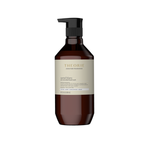 Antimicrobial nourishing hand soap santal blanc fragrance (Front)