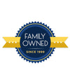 100% Family Owned.