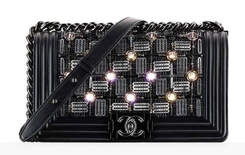 Chanel LED Stud Black Bag
