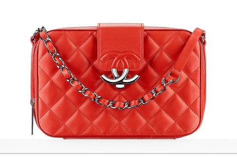Chanel Bright Orange Camera Case