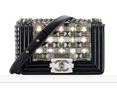 Chanel Small LED Boy Bag