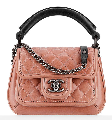 Chanel Small Top Handle Flap Bag