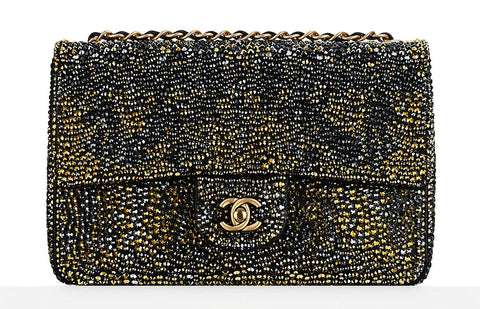 Chanel Strass Classic Flap Bag