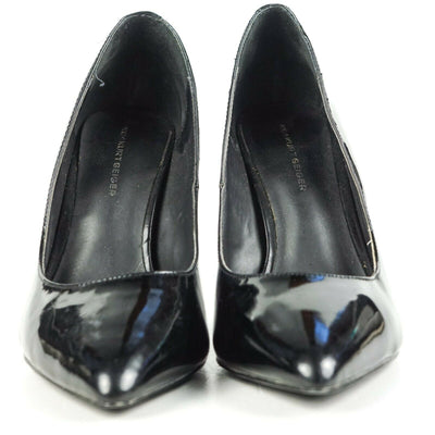 Kurt Greiger Heels KG Black Patent Leather Pointed Toe 38 - US 8