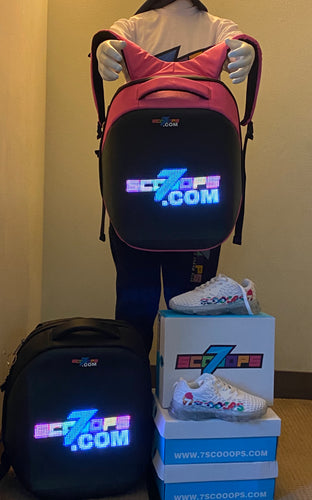 7Scooops SE - LED Backpack