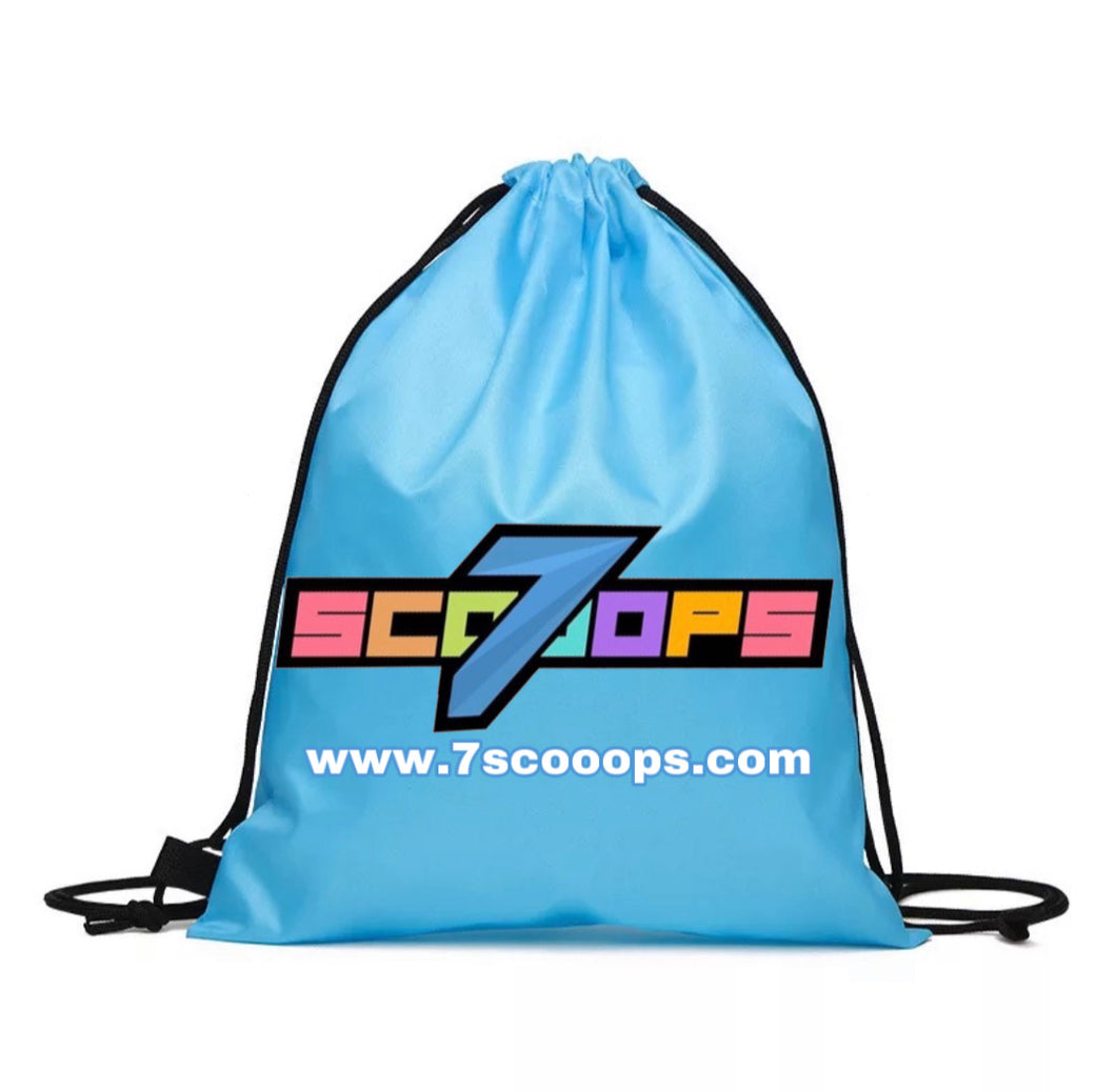 7Scooops Draw String Shoe Bag