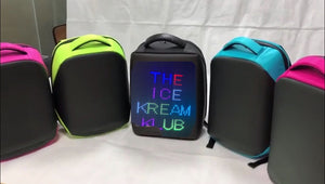 7Scooops (Special edition) LED Backpack