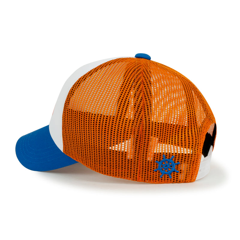 ililily Color Printed Summer Mesh Casual Style Baseball Cap 2277