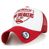 ililily WAVE BREAKERS Embroidery Casual Mesh Baseball Cap Trucker Hat