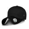 ililily Solid Color Air Mesh Curved XL Baseball Cap Strapback Big Trucker Hat
