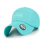 ililily Cotton Soulmate Embroidery Baseball Cap Simple Casual Trucker Hat