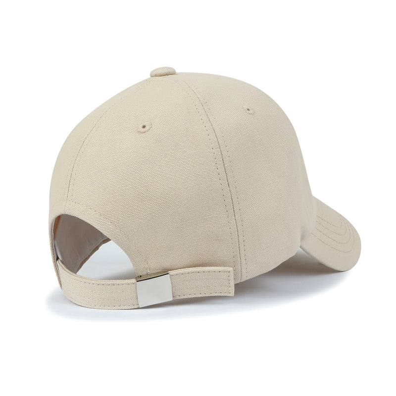 ililily Cotton OMG Embroidery Baseball Cap Simple Casual Trucker Hat