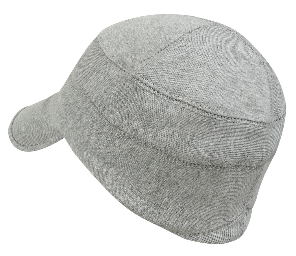 ililily Solid Color Cotton Casual Flex Fit Slouchy Work Cap Soft Hat