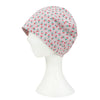 ililily Cherry Pattern Basic Beanie Soft Light-weight Stretchable Bandana Hat