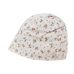 ililily Washed Cotton Pattern Basic Beanie Soft Light-weight Stretchable Bandana