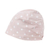 ililily Polka Dot Pattern Cotton Beanie Soft Light-weight Stretchable Bandana