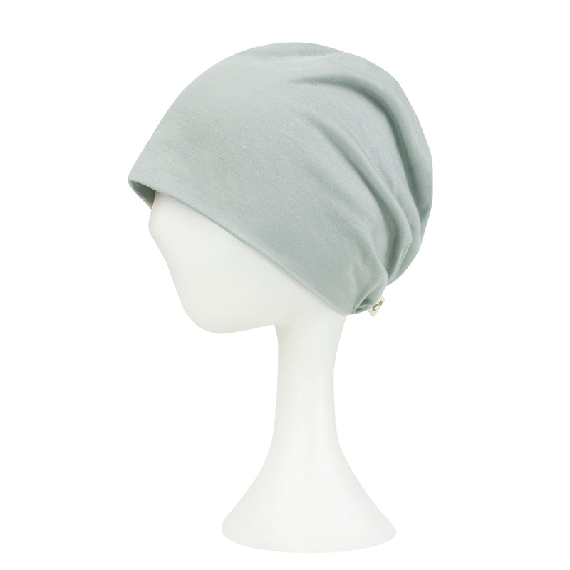 ililily TENCEL™Lyocell Color Beanie Ultra Soft Stretchable Head Cover Hat