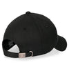 ililily Solid Color Cotton Baseball Cap Strapback SAINT Embroidered Trucker Hat