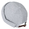 ililily Solid Color Cotton Short Beanie Strap Back Casual Hat Soft Cap
