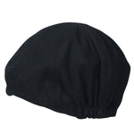 ililily Solid Color Wool-blend Gatsby Newsboy Hat Cabbie Hunting Flat Cap