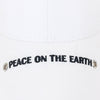 ililily PEACE ON THE EARTH Embroidery Cotton Baseball Cap Strapback Trucker Hat