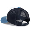 ililily Embroidery Patch Vintage Distressed Mesh Trucker Hat Baseball Cap