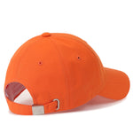 ililily Fluorescent Sunday Embroidery Baseball Cap Cotton StrapBack Trucker Hat