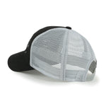 ililily Tradition Embroidery Baseball Cap Solid Color Mesh SnapBack Trucker Hat