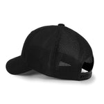 ililily Double Mesh Back Curved Baseball Cap Snapback Trucker Hat