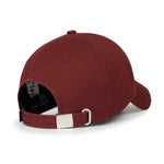 ililily Emblem Embroidered Baseball Cap Solid Color Cotton Snapback Trucker Hat