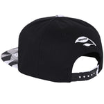 ililily Animal Paper Folding Rubber Logo Flat Bill Snapback Hat Baseball Cap