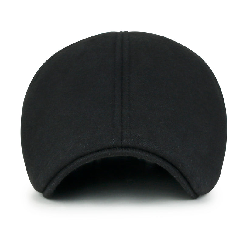 ililily Soft cotton Newsboy Flat Cap ivy stretch-fit Driver Hunting Hat