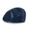 ililily Patchwork Denim Cotton Gatsby Newsboy Hat Cabbie Hunting Flat Cap