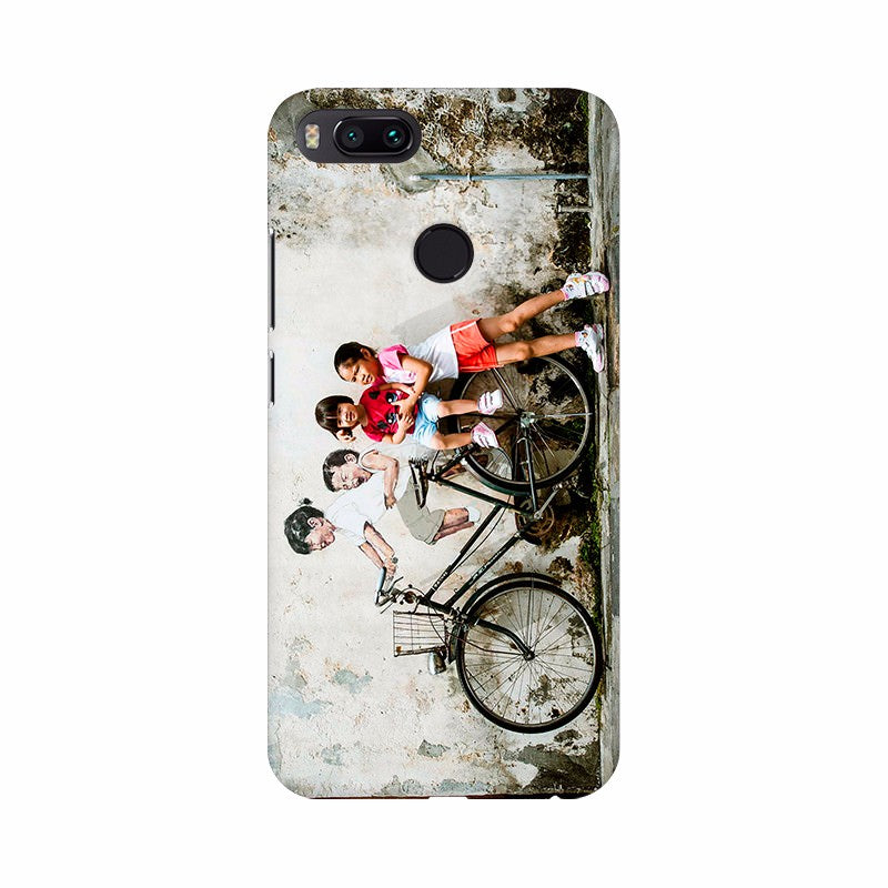 Children on Bicycle Poster Mobile Case Cover