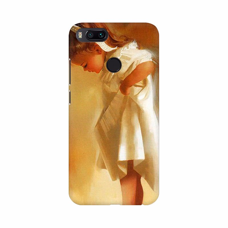 Girl abstract photo Mobile case cover