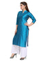Stitched Designer Kurti for Women Color Blue Size 34 | 36 | 38 | 40 | 42 | 44 | 46 | 48 | 50 | 52 | 54 | 56 | 58 | 60