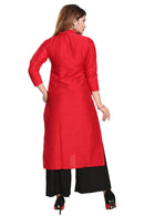 Stitched Designer Kurti for Women Color Red Size 34 | 36 | 38 | 40 | 42 | 44 | 46 | 48 | 50 | 52 | 54 | 56 | 58 | 60