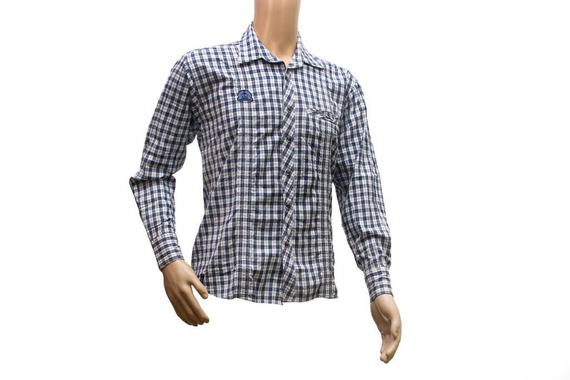 Blue Color Cotton Shirt