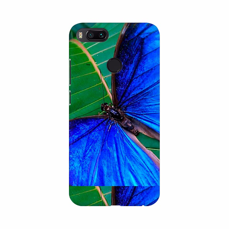 Beautiful Blue Color Butterfly Mobile Case Cover